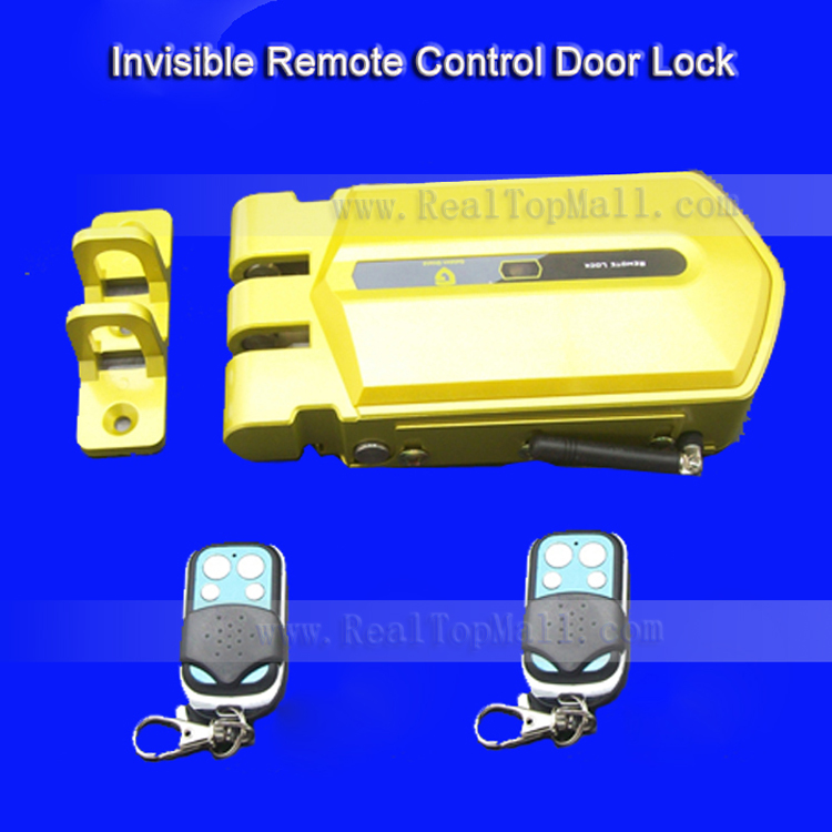China Anti Theft Electric Keyless Stainless Steel Remote