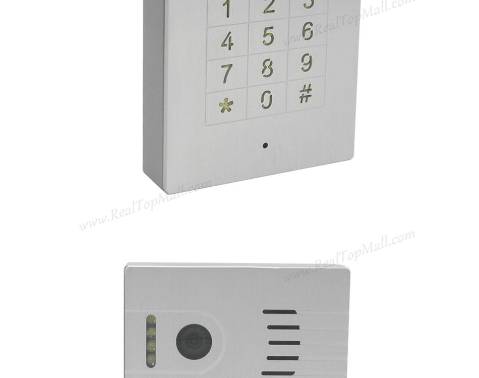 Touch screen Global Wifi Video Door Phone Doorbell Intercom|WiFi  Wireless IP Intercom Interfone Peephole Camera Door Viewer